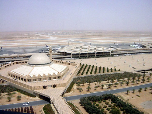 Aeroporto de Riade, o King Khalid International Airport