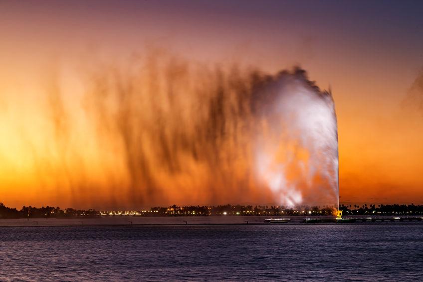 Fonte do Rei Fahd em Jeddah