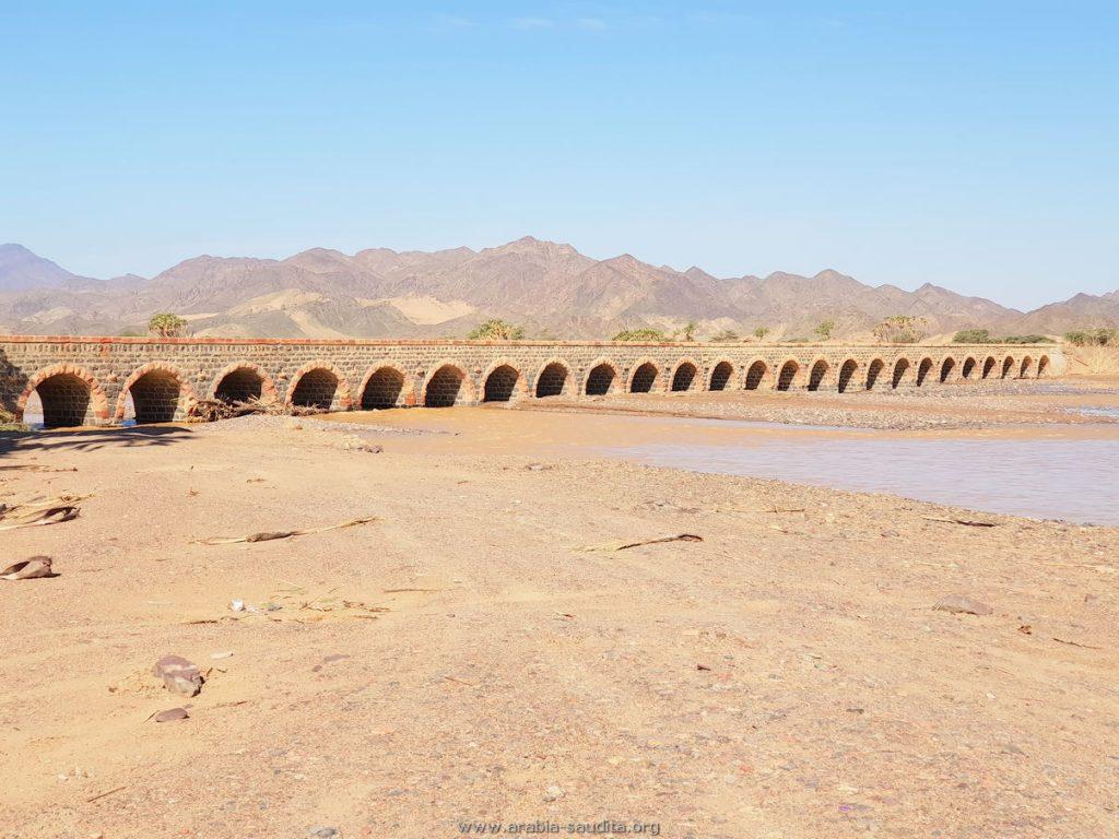 Linha do Hejaz Ponte Hadiya Arabia Saudita