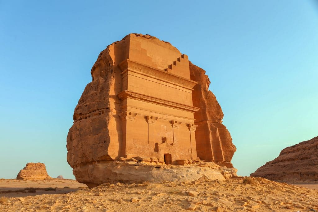 Mada'in Saleh na Arabia Saudita