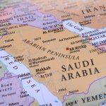 Onde está localizada a Arábia Saudita