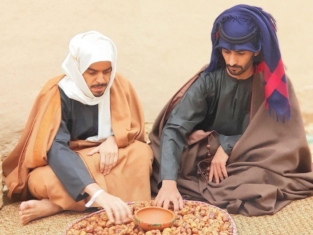 A população da Arábia Saudita