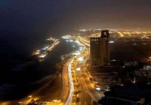 Cidade de Jida ou Jeddah na Arábia Saudita